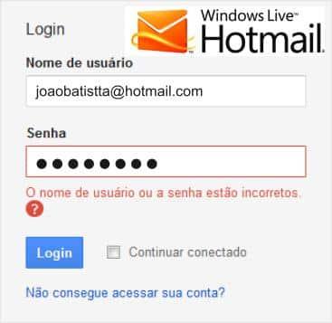 Não Consigo Acessar Meu Hotmail Bloqueado [Resolvido]