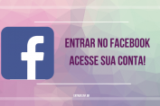 entrar no facebook